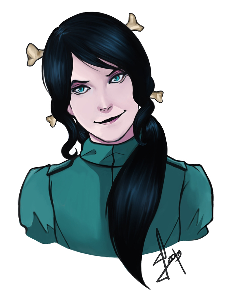 Leah Sketch by Fraulein-Mao on DeviantArt