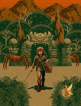 The Legend of Zelda - Mouth of the Dungeon