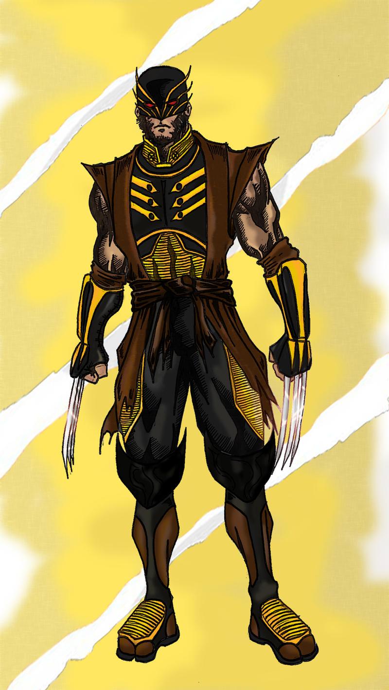 Wolverine Redesign by balltastics2000