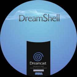 CD label dreamshell by Anarkhya
