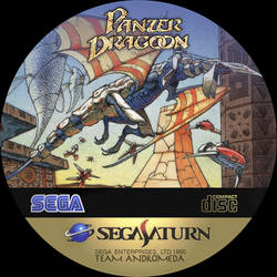 CD Label Panzer Dragoon by Anarkhya