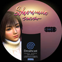 GD label dreamcast shenmue GD2