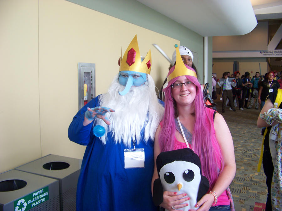 Ice King And Princess Bubblegum Ice King  Princess Bubblegum