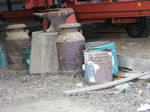Anvil and Milking Containers