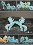 Doublemint {kitten-sized Lyra plushie}