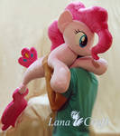 Merpony Pinkie Pie BIG handmade plush toy