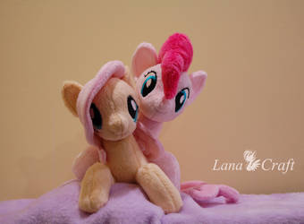 FlutterPink [ MLP: the Movie seapony plushies ] by LanaCraft
