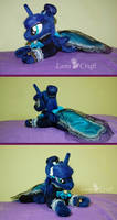 Princess Luna tiny mlp plush by LanaCraft
