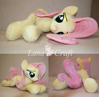 Fluttershy BIG plushie - llifesize mlp fim plush by LanaCraft