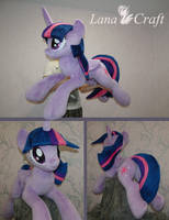 Twilight Sparkle BIG plush - MLP handmade plushie by LanaCraft