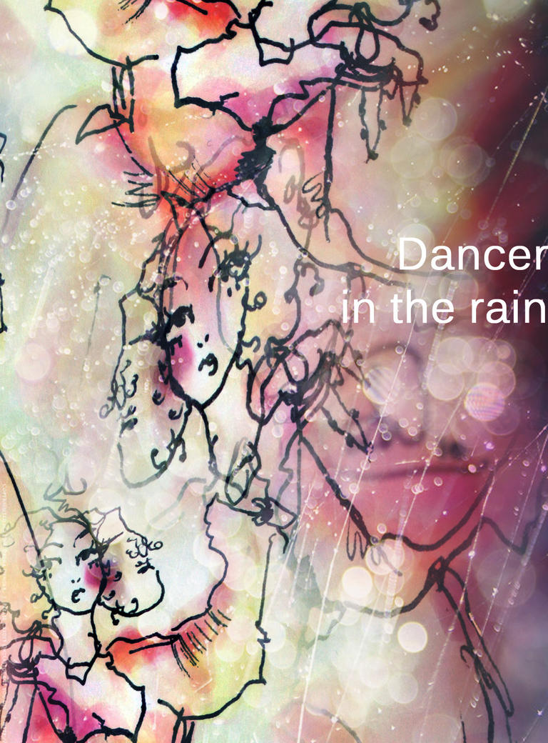 Dancer in the rain II by dyingrose24