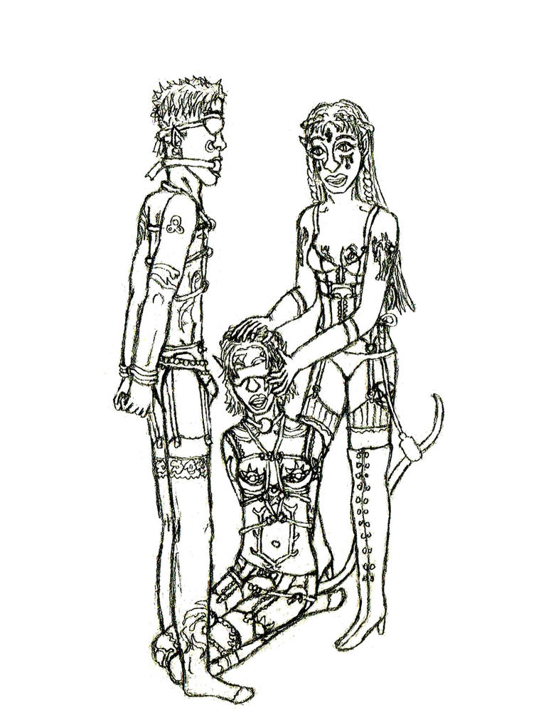 Annaerlitha's Slaves by AvengingKobold