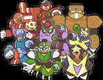 Robot Masters EXTERMINATE!!!!!