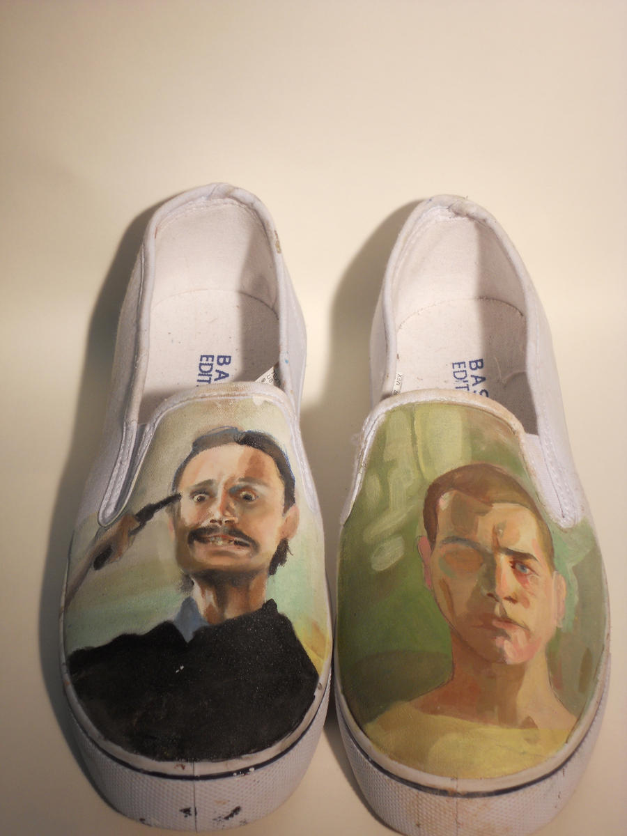 Trainspotting Shoes by Patatat