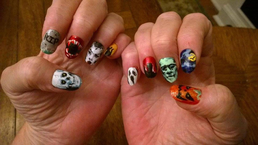Halloween Nails by Patatat