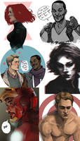 Marvel Sketchdump