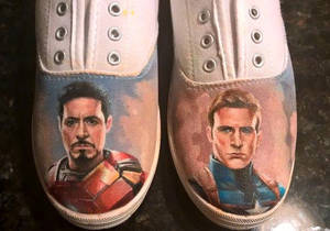 Stony/Civil War shoes