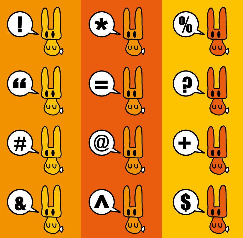 bunny swearz by shoshaishon