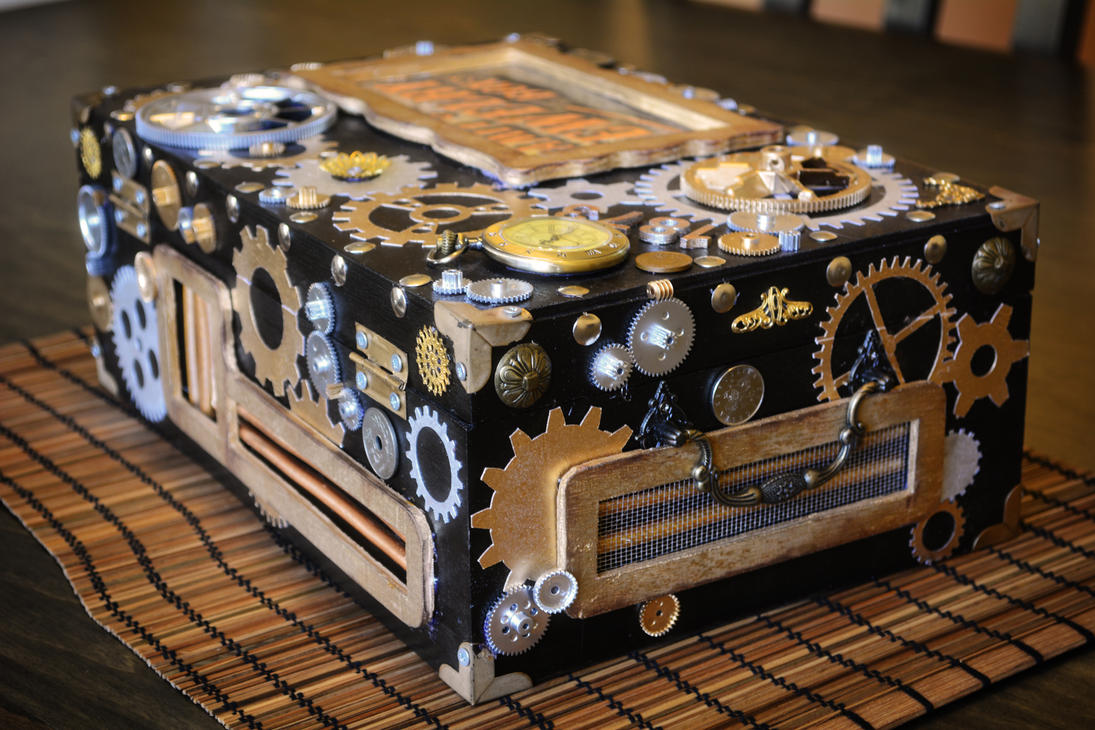 Steampunk Jewelry Box by TBVTBV on DeviantArt