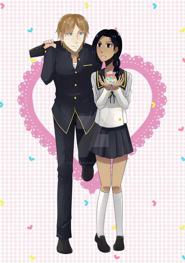 [COMM] Uther and Karen by kureha-alpha