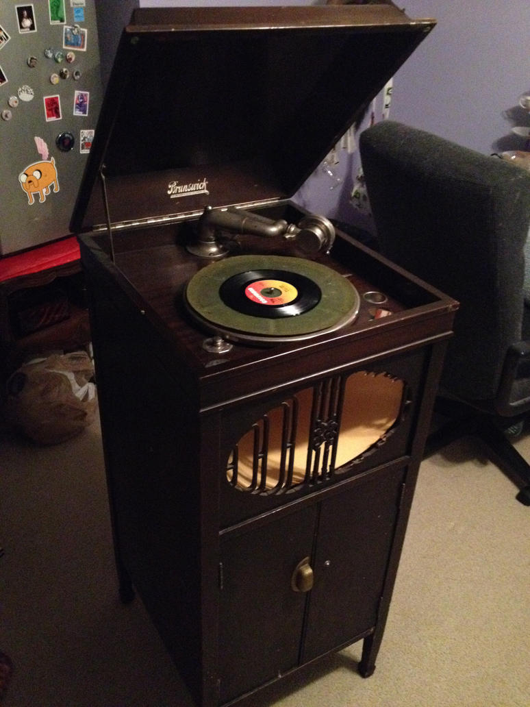 Restoring an old phonograph by jofflin