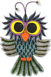 Frazzled Owl