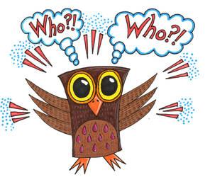 Who?! Who?! Owl