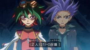 Yuya and Yuto Xyz summon