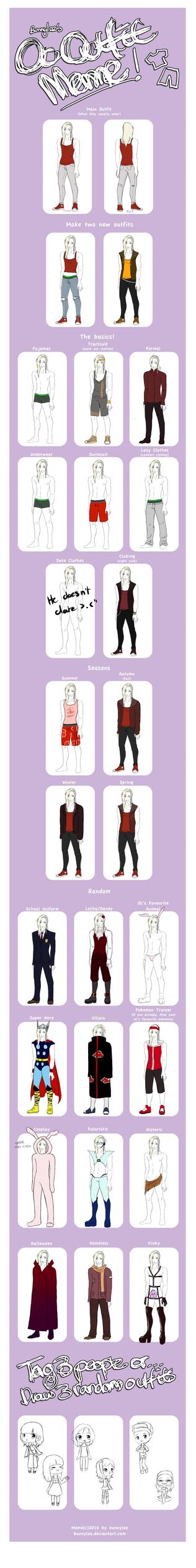 Outfit meme Matthew Scarlett by CookiiMii