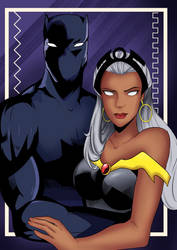 The King and Queen of Wakanda