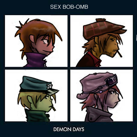 Sex Bob-omb - Demon Days by NightHunterKitty
