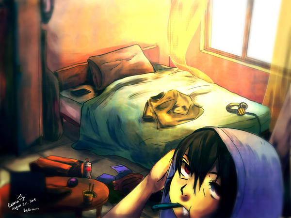 1-  Didn't really sleep last night... by ReenaCat