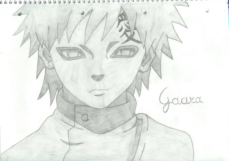 gaara drawings in pencil - photo #7