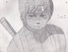 Sai pencil drawing