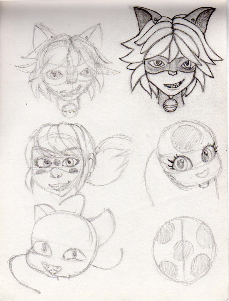 Good First Miraculous Ladybug Sketches By RubintheHorse ...