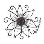 Inktober Day 2: Flower