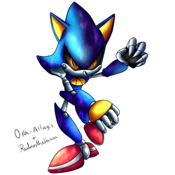 SONIC-KINGDOM Group Collab: Metal Sonic by RubintheHorse