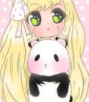 ::Panda Panda Chuu:: by scarlet-glow