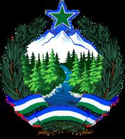 Cascadia Emblem - Internationalist Style by Azzolubianco