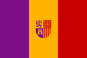 Spainish Republic Tricolor by Azzolubianco