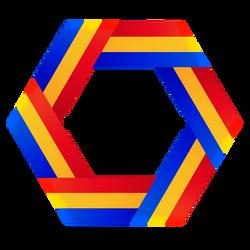 Romania is a hexagon by Azzolubianco