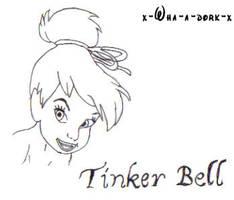 Tinker Bell. by x-wha-a-dork-x