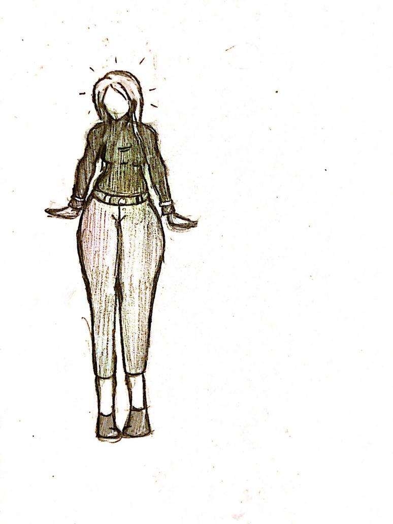 Michelle Sketch by PotterheadWeirdo