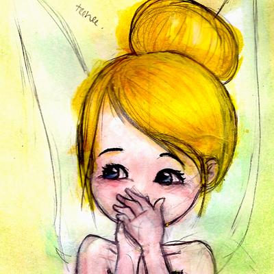 Tink - Teehee Quilt by slushiesushi