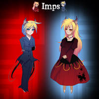 Imps by HatterMadness