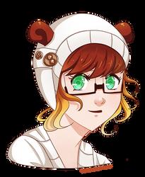 Teddybear Ears by HatterMadness
