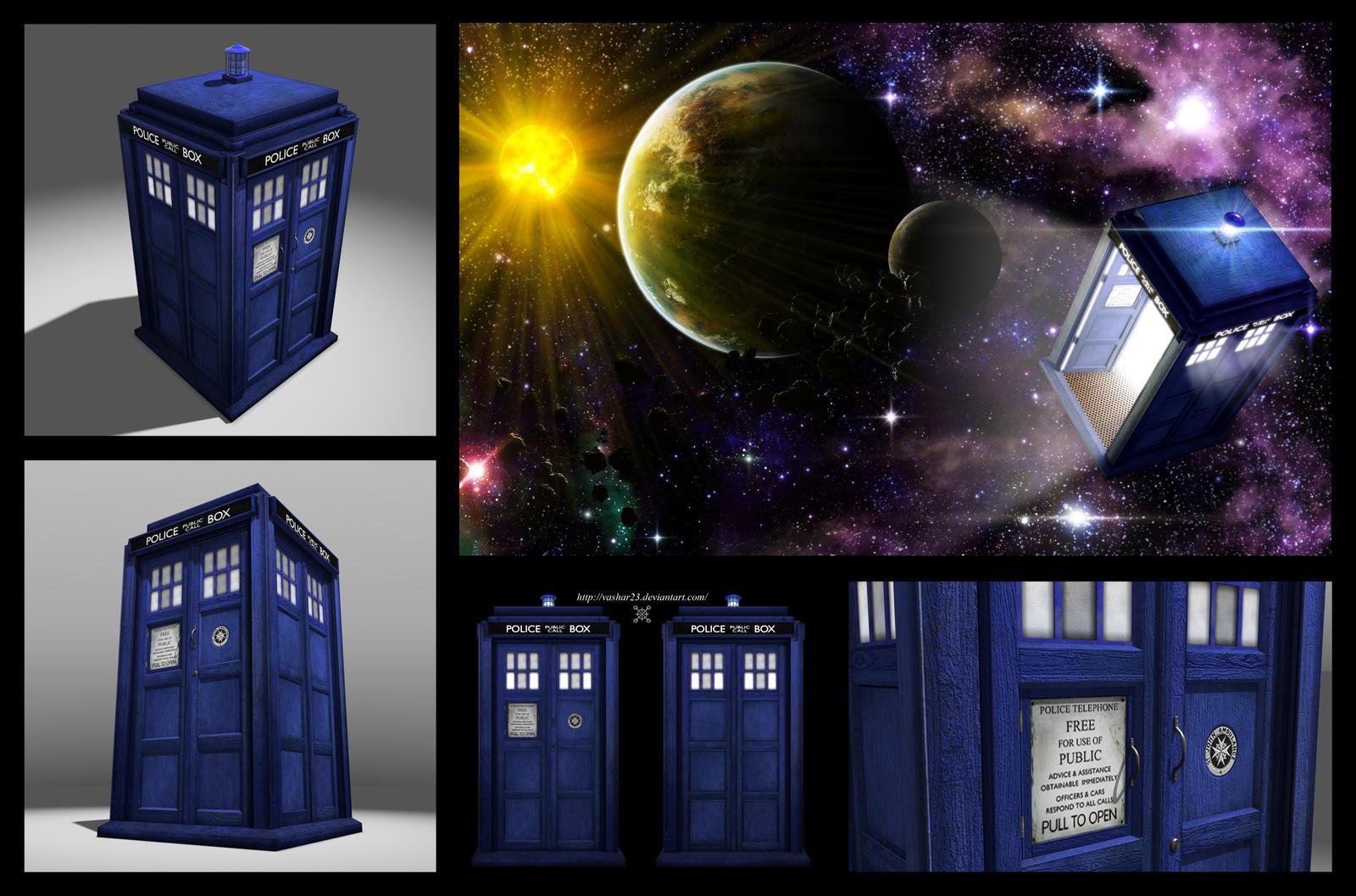 TARDIS chart by Vashar23