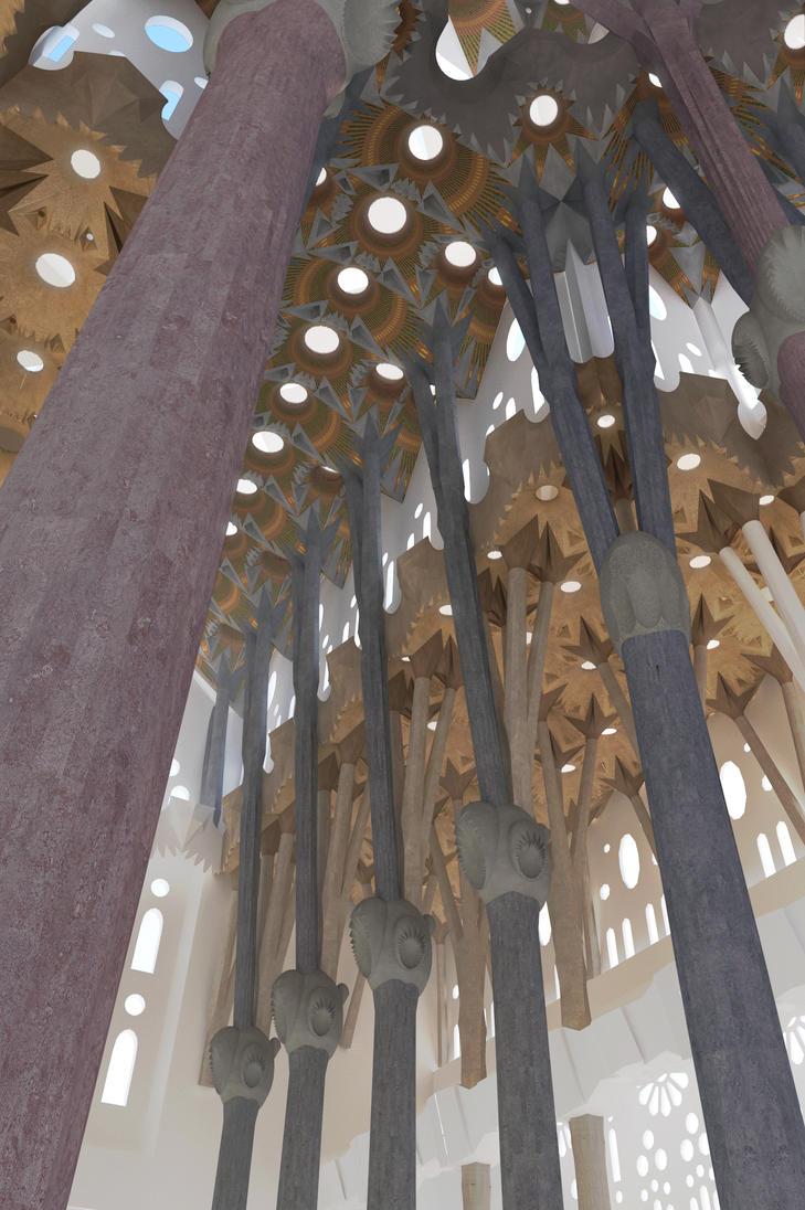 Sagrada Familia - 1 by Vashar23