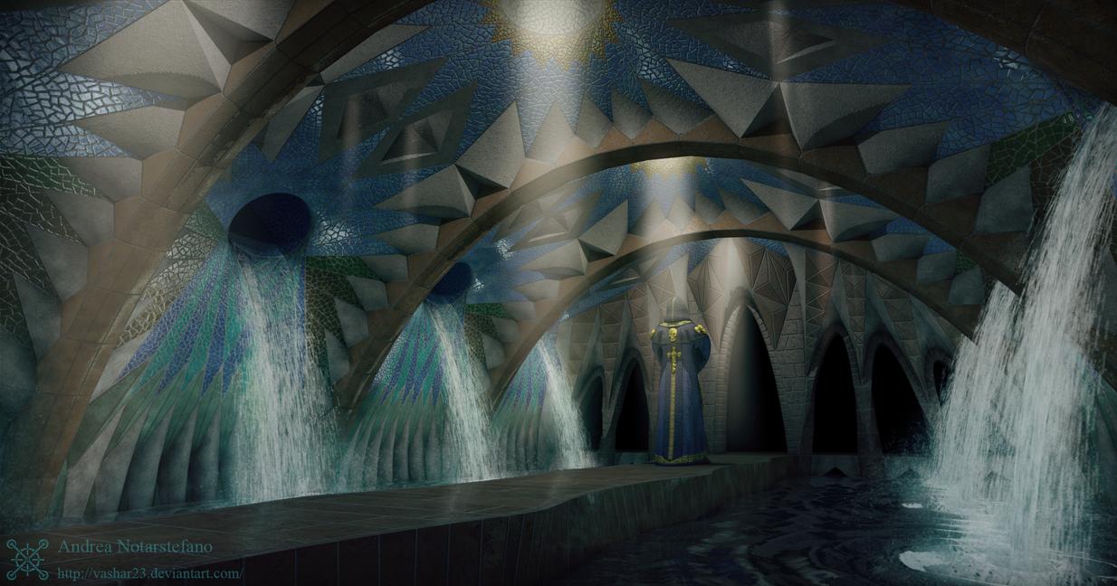 Crypt entrance by Vashar23