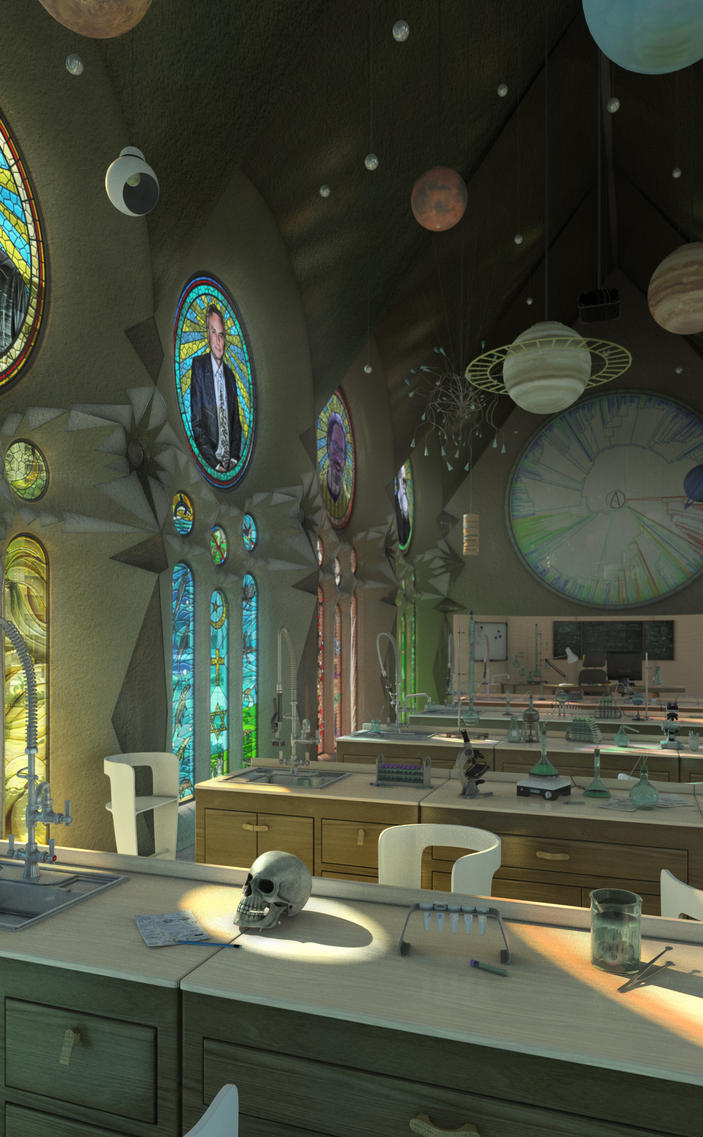 Church of Atheism and Natural Sciences by Vashar23